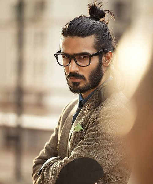 mens hairstyles top knots 2015