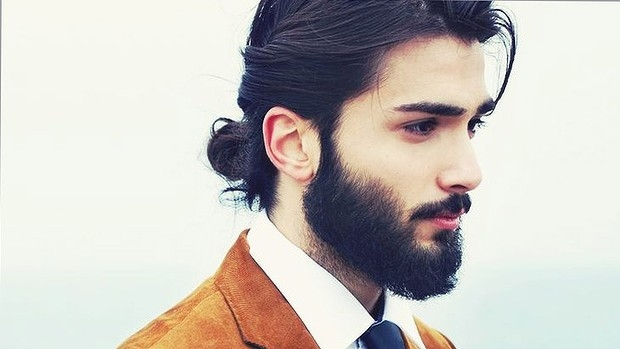 elegant mens hairstyles top knots 2015