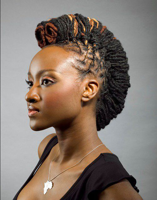 Enjoyable Jazzy Mohawk Hairstyles For Black Women Hairstyles 2016 Hair Short Hairstyles Gunalazisus