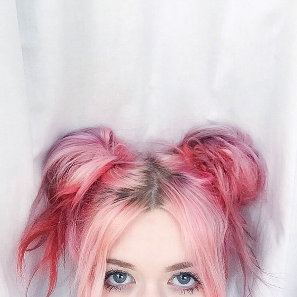 Rosy pastel hair colros 2015 Summer