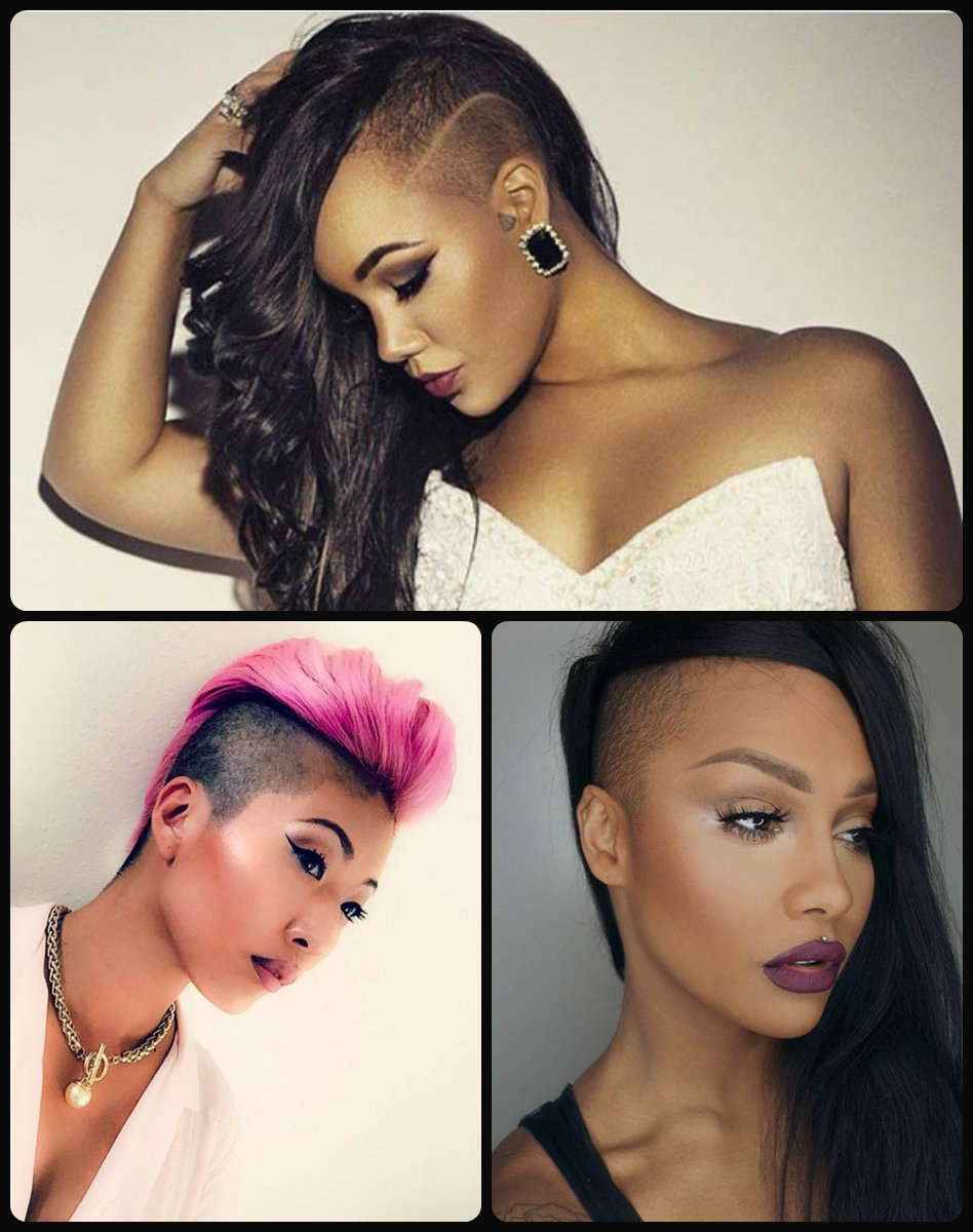 Exceptional Shaved Hairstyles for Women