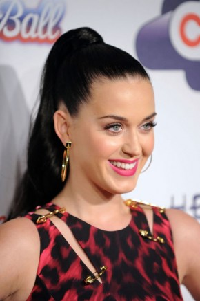 Katy Perry summer ponytails 2015