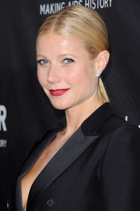 Gwyneth Paltrow summer ponytails 2015