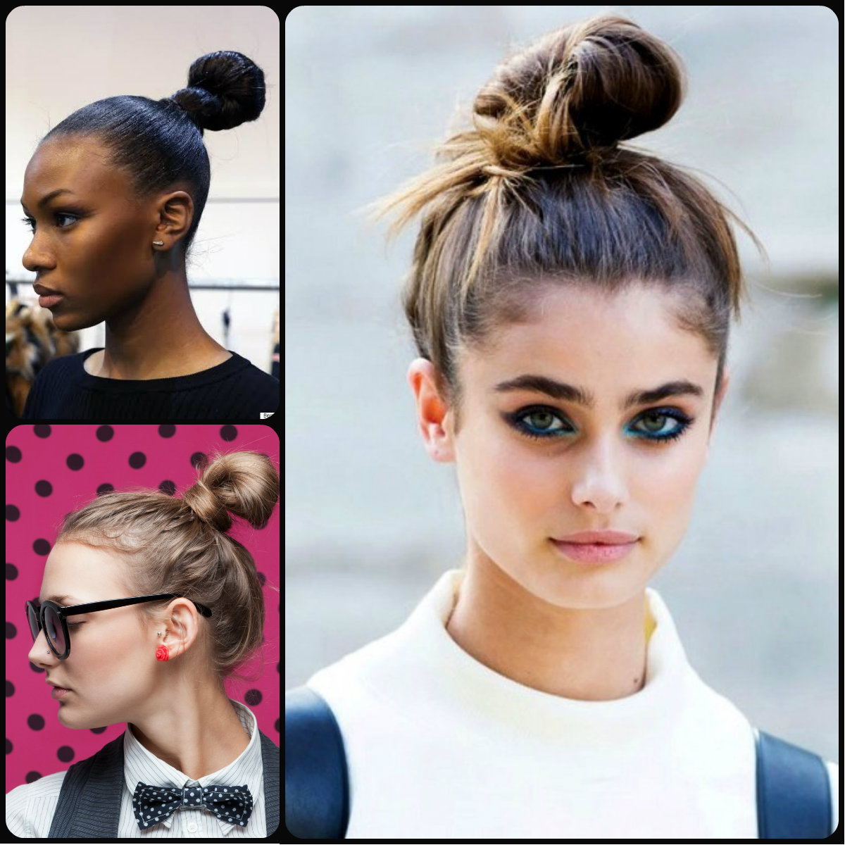 top knots hairstyles 2015
