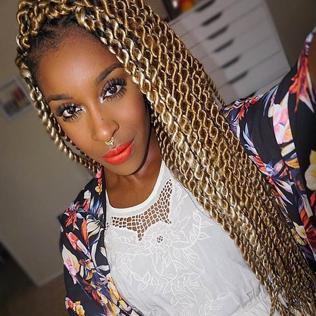 Excellent Whimsical Twist Hairstyles For Black Women Hairstyles 2016 Hair Hairstyles For Women Draintrainus