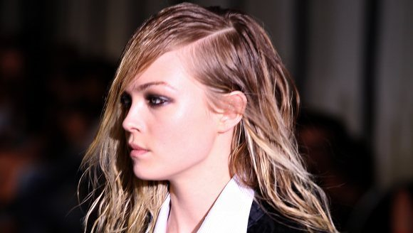 wet effect hairstyles 2015 Fall