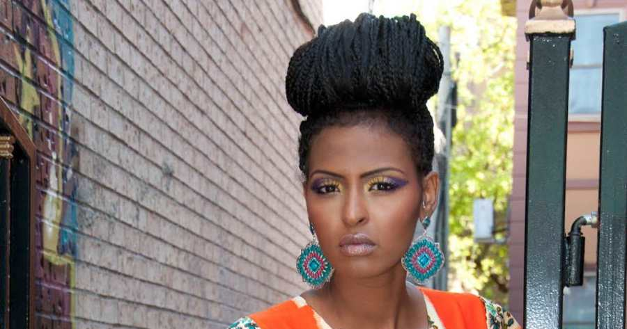 Black Women Braided Updos 2015 Summer
