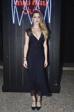 Amber Heard celebrity hairstyles 2015 Fall Winter