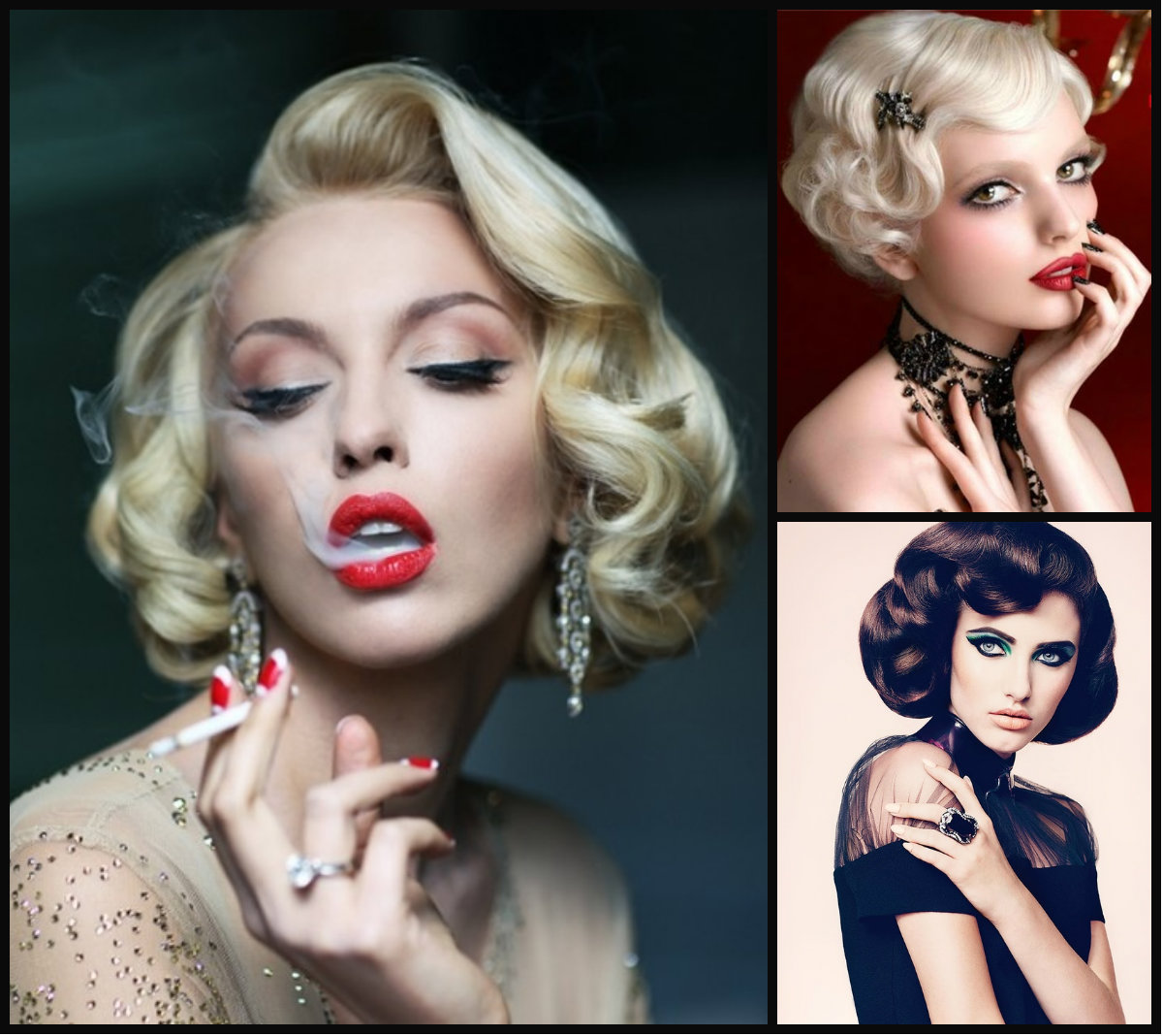 Sensual Retro Hairstyles Fall 2015