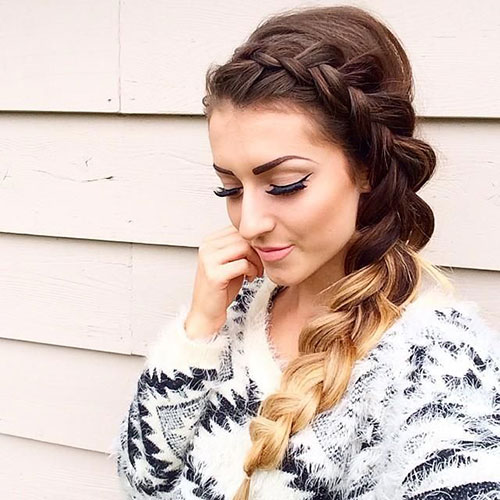 Side Dutch Braids Hairstyles