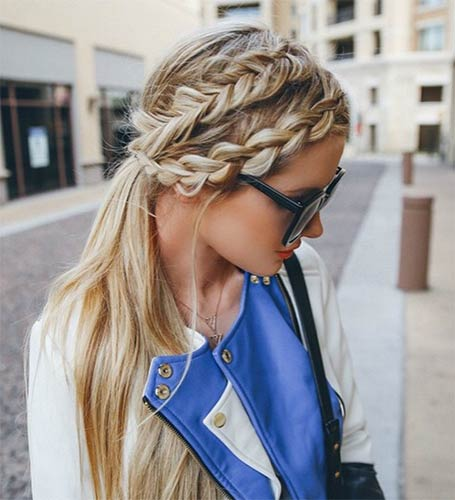 Two Dutch Braids Hairstyles