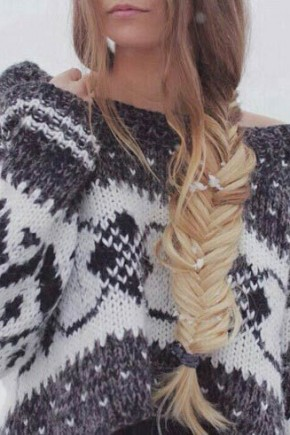 Side Fishtail Braids Hairstyles