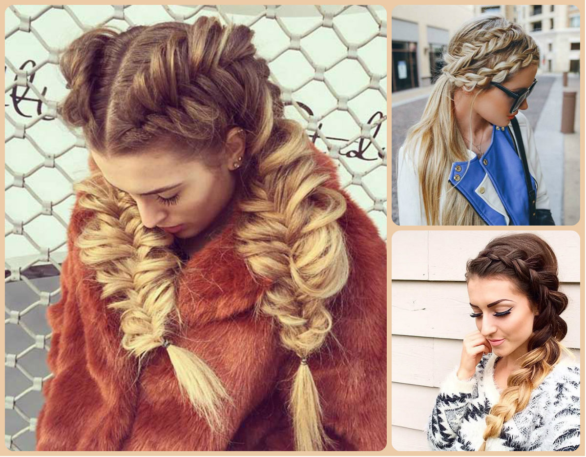 French Braids Hairstyles Fall 2015
