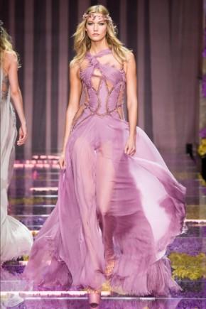 Karlie Kloss Versace hairstyles Fall Winter 2015