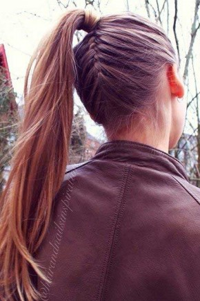 Revesre Braid to Ponytail Hairstyles 2015