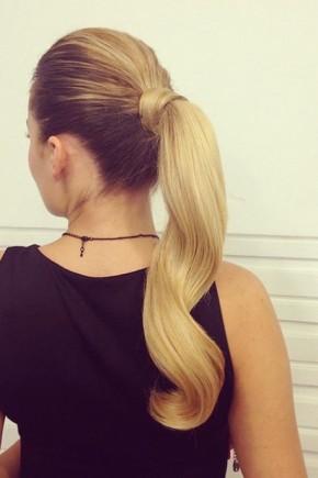 Elegant Ponytail Hairstyles 2015