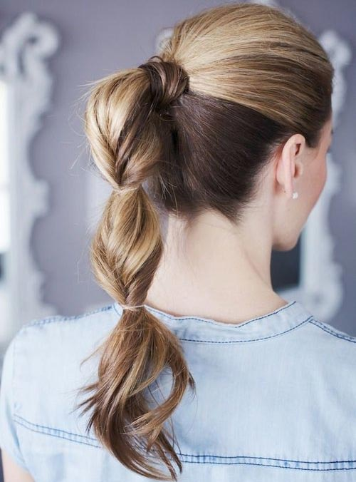 Bubble Ponytail Hairstyles 2015