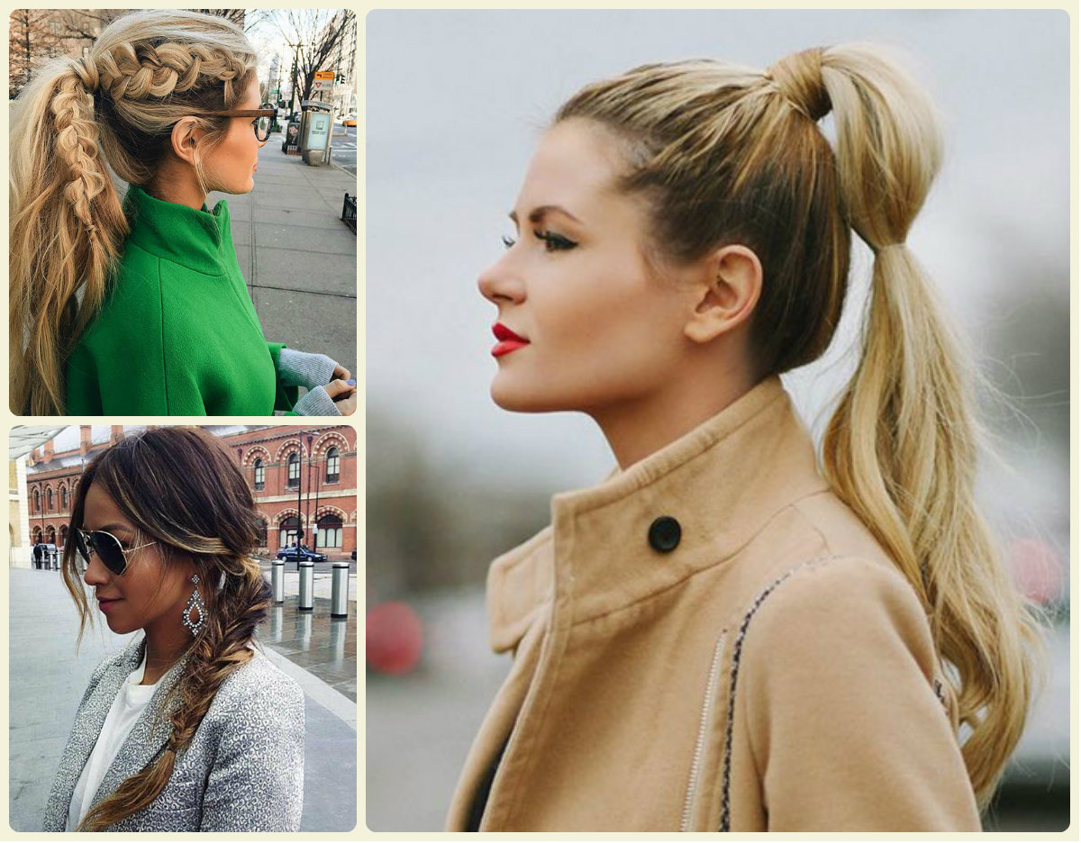 Remarkable Everyday Ponytail Hairstyles 2015 Fall Hairstyles 2016 Hair Short Hairstyles Gunalazisus