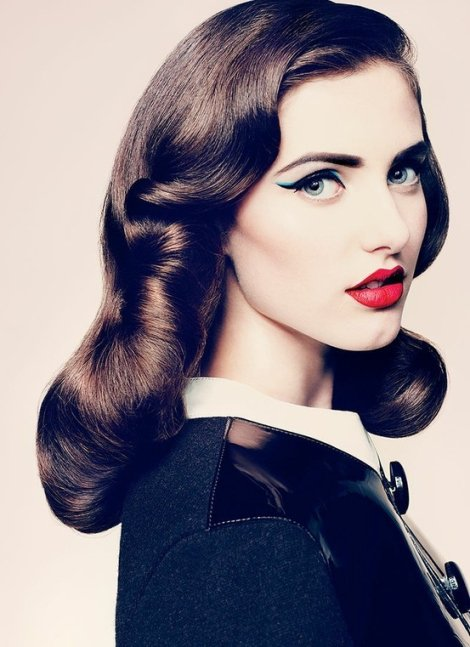 Long Retro Hairstyles Fall 2015