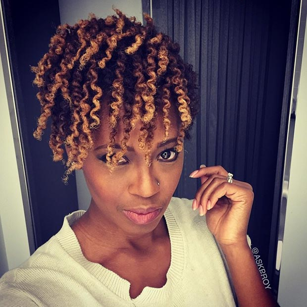 Short Ombre Haircuts for Black women 2015
