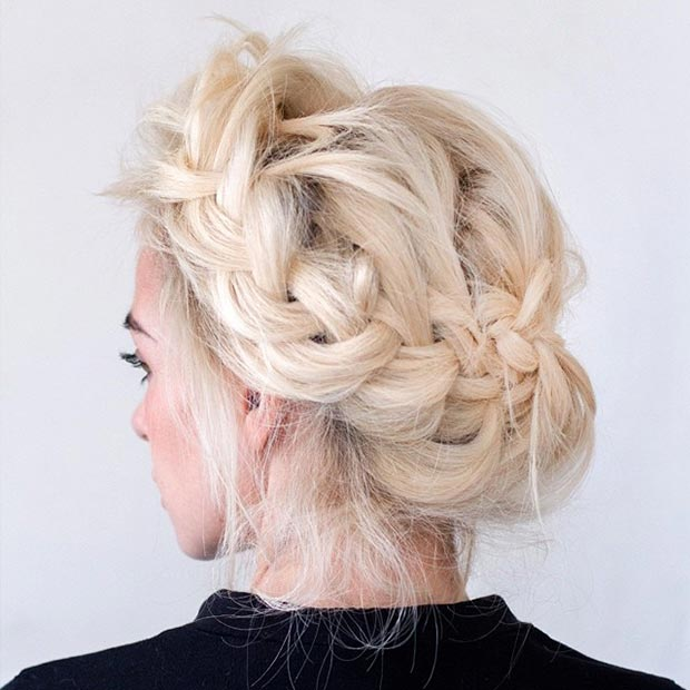 Top Trendy Updo Hairstyles 2015 Hairstyles 2017 Hair Colors And