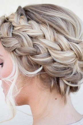 Double crown braid Hairstyles 2015