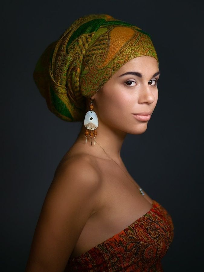 Modest african head wrap hairstyles 2015