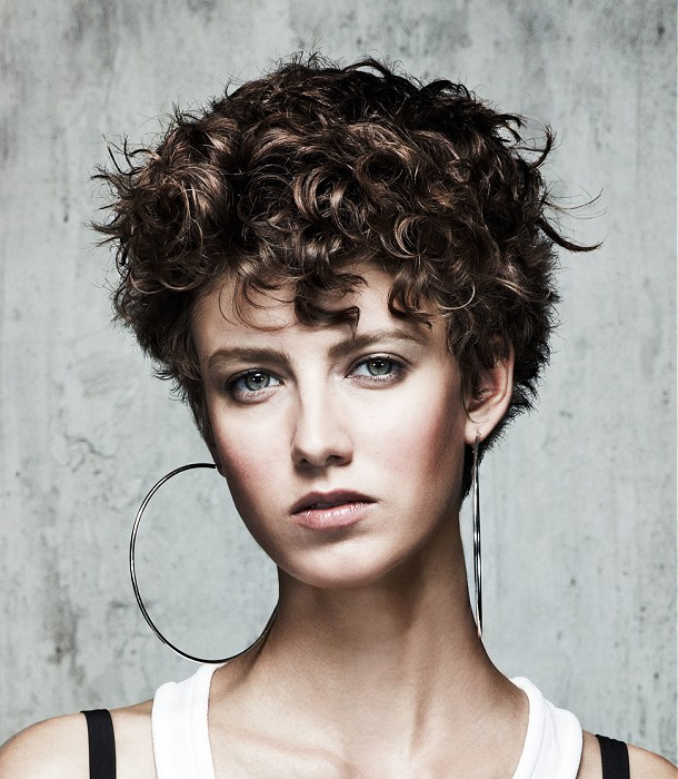 Jean Marc Maniatis Short Curly Hairstyles