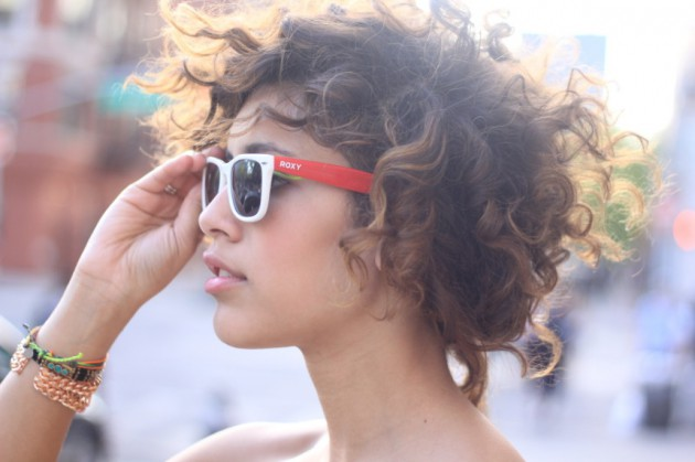 Street Style Short curly hairstyles 2015 Fall