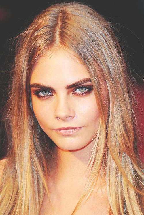 Cara Delevingne Sombre hair colors 2016