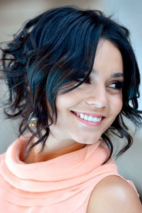 Vanessa Hudgens Short curly hairstyles