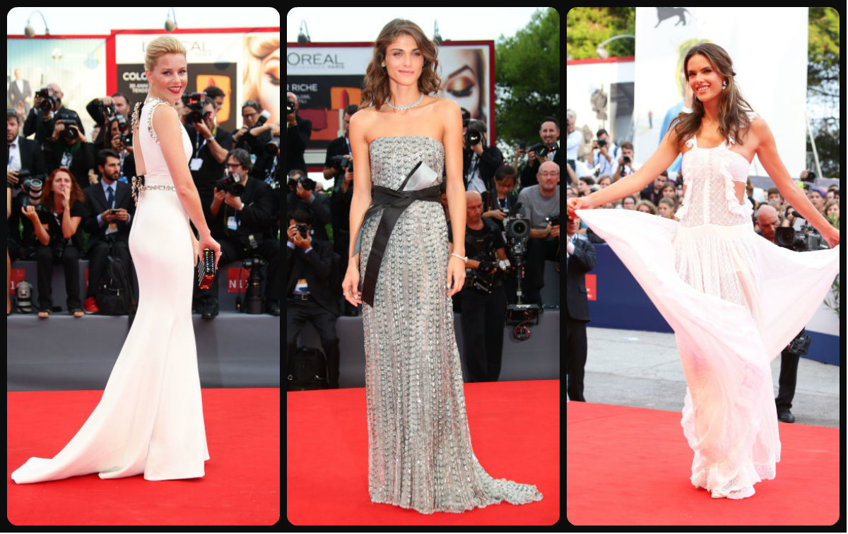 72nd Venice Film Festival 2015 Hairstyles