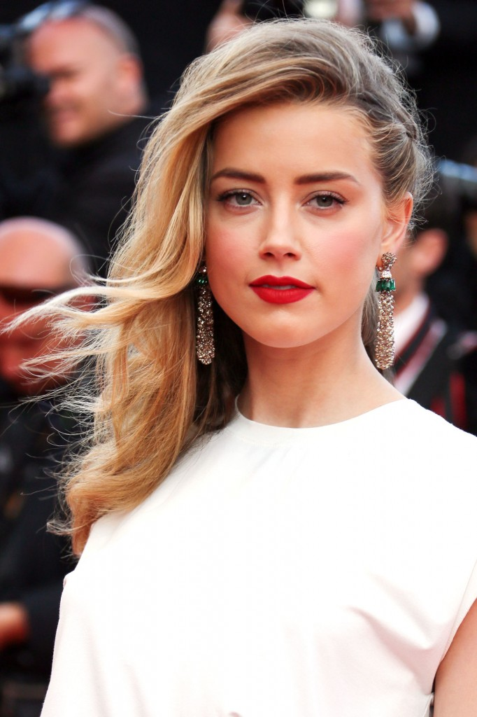Amber Heard Blonde Hair Colors for 2016