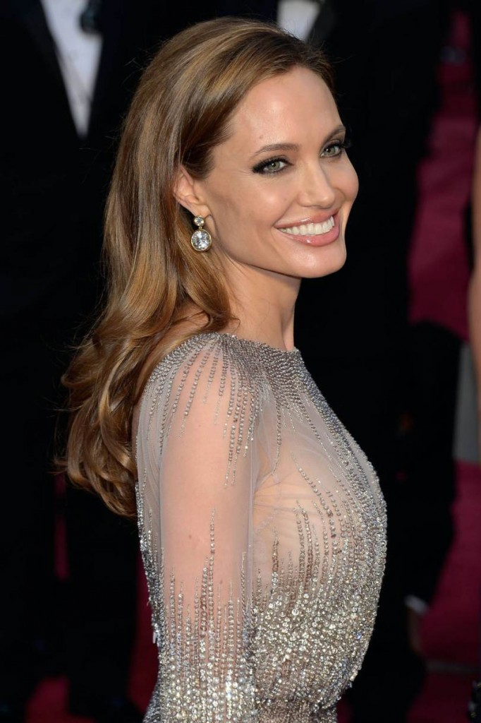 Angelina Jolie Long Hairstyles 2016