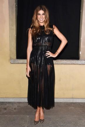 Bianca Brandolini d'Adda hairstyles 2016