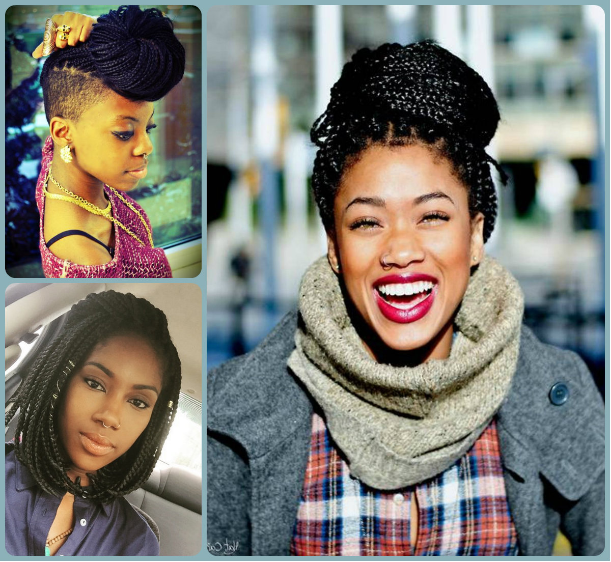 Admirable Cool Box Braids Hairstyles 2016 Hairstyles 2016 Hair Colors And Short Hairstyles For Black Women Fulllsitofus