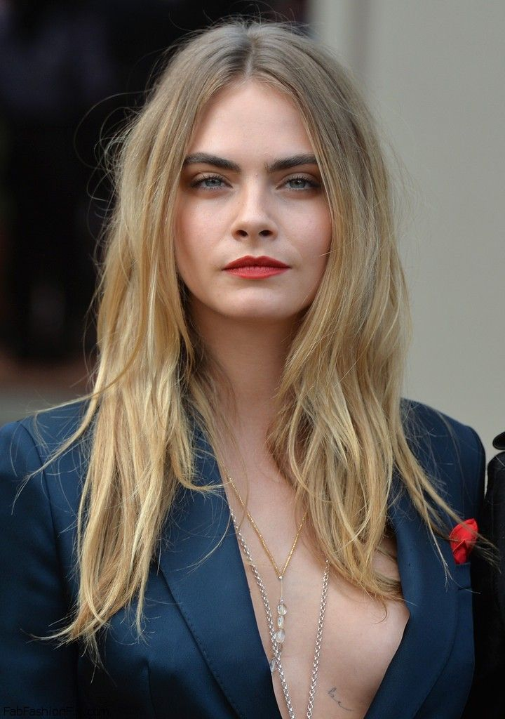 Cara Delevingne Long Hairstyles 2016