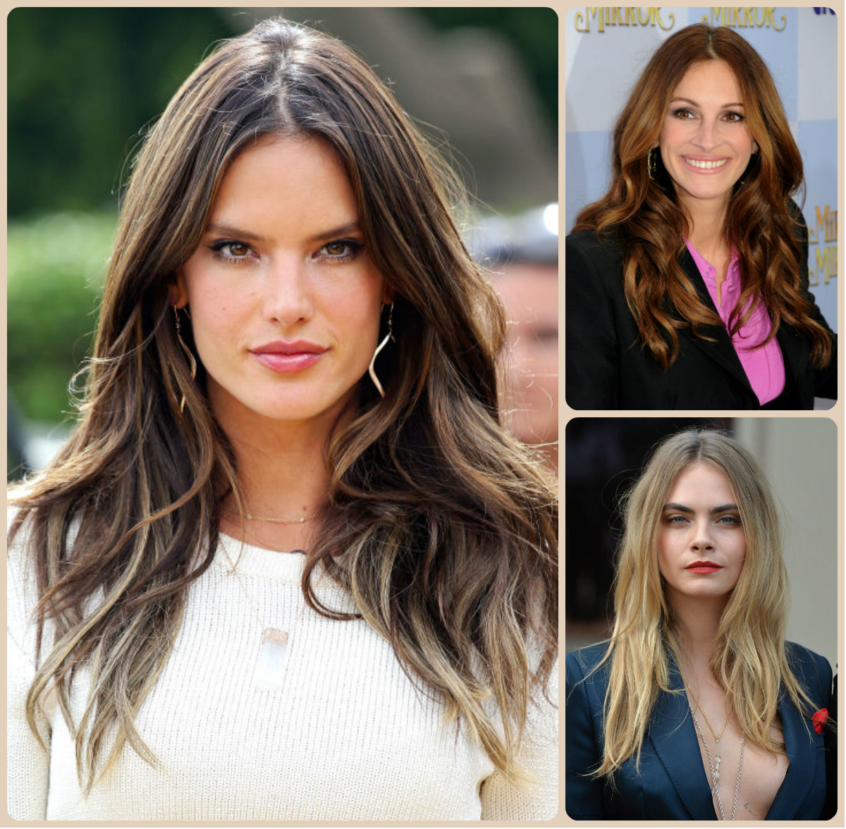 Celebrity Long Hairstyles for 2016 Celebrity Sensual