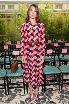 Charlotte Casiraghi hairstyles 2016 at Gucci