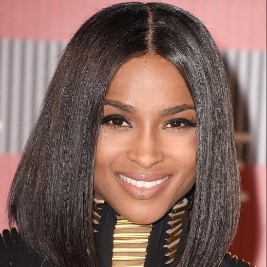 Ciara Celebrity Hairstyles VMAs 2015