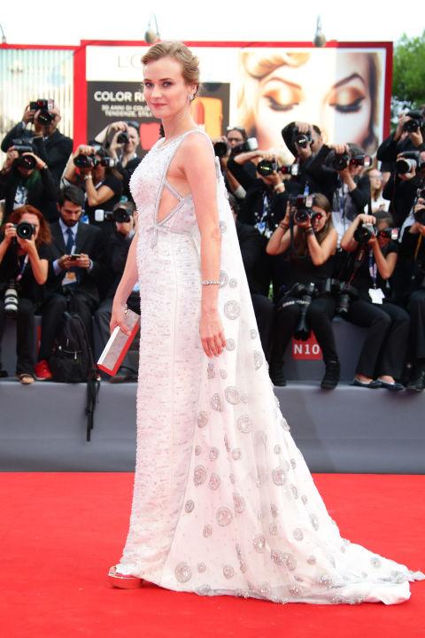 Diane Kruger Venice Film Festival 2015 Hairstyles