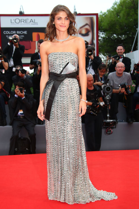 Elisa Sednaoui Venice Film Festival 2015 Hairstyles