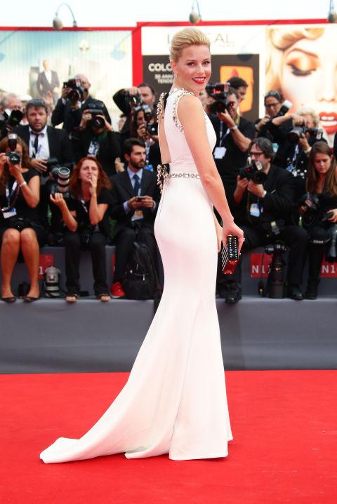 Elizabeth Banks Venice Film Festival 2015 Hairstyles
