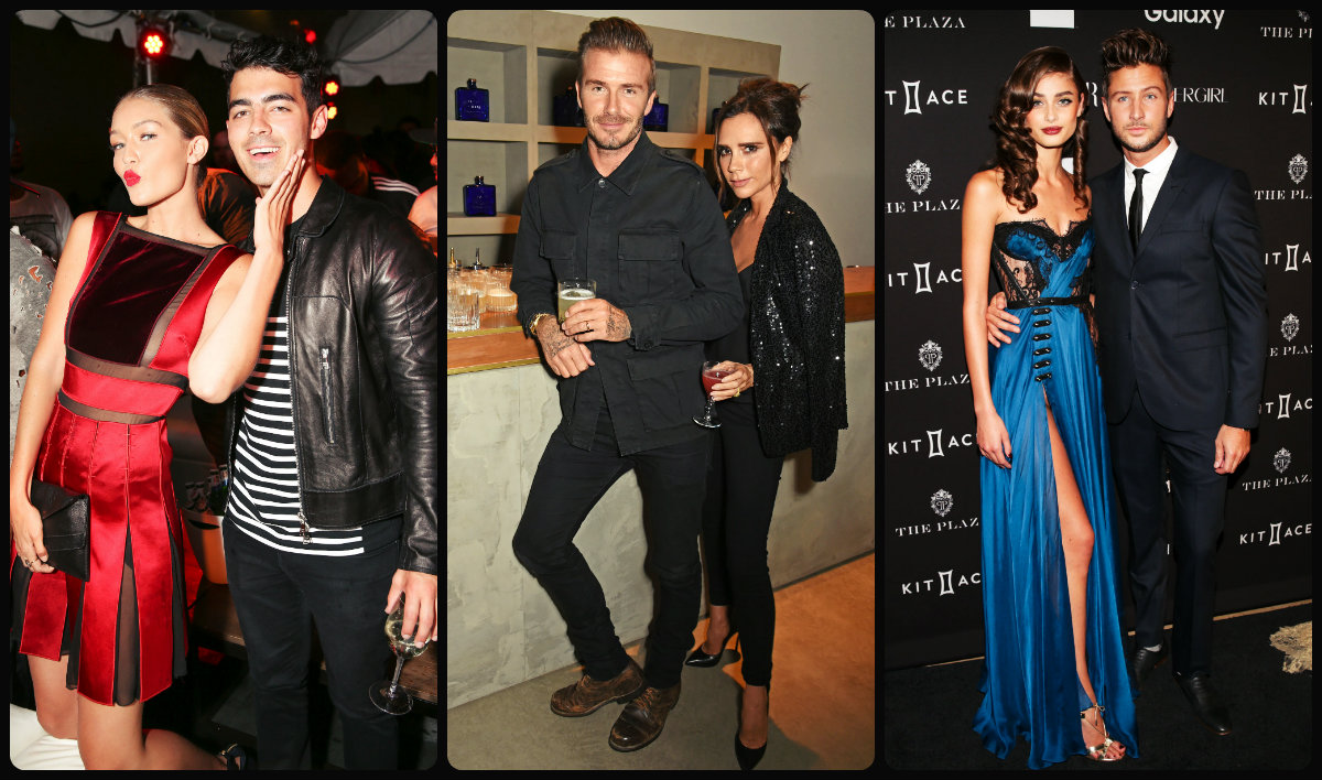 Fashion weeks couples and hairstyles