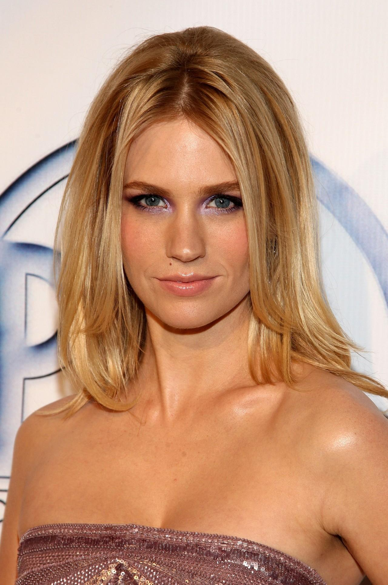 January Jones Hair Colors for 2016 Winter
