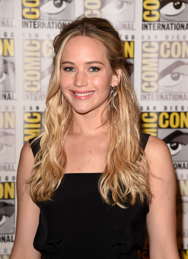 Jennifer Lawrence Blonde Hair Colors 2016
