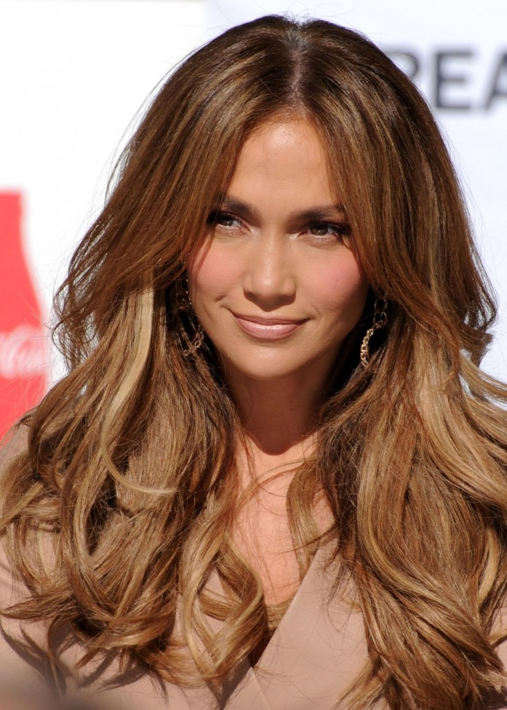 Jennifer Lopez Long Hairstyles 2016