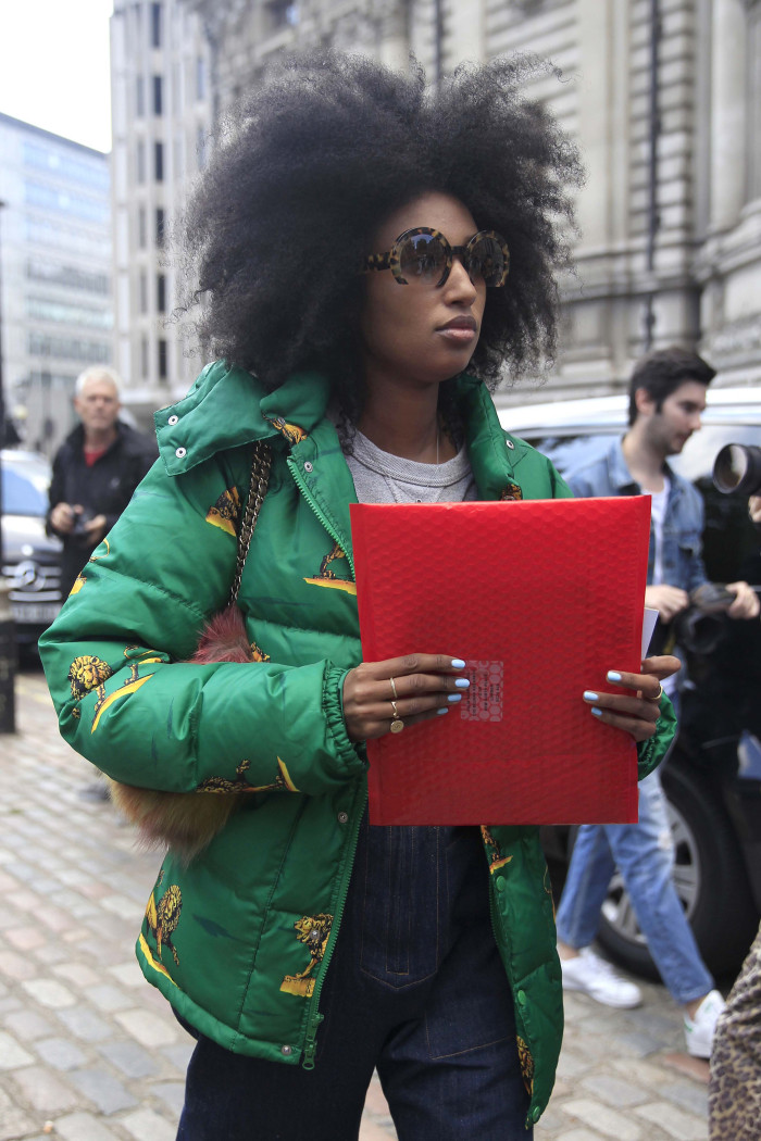 LFW afro hairstyles 2016