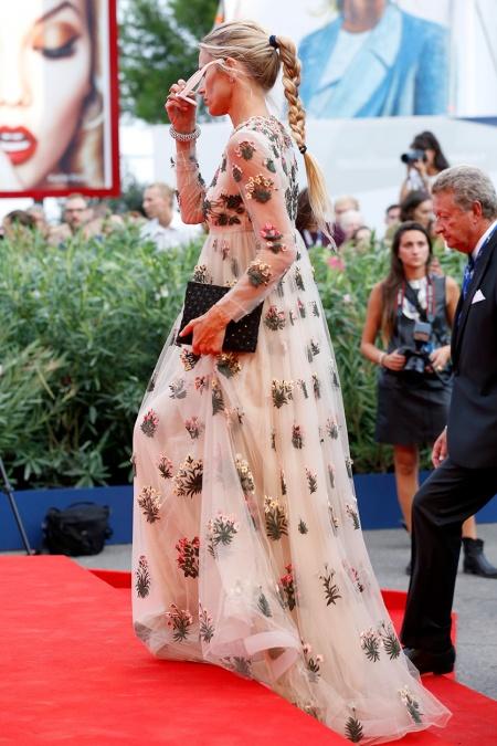 Lora Bailey Venice Film Festival 2015 Hairstyles