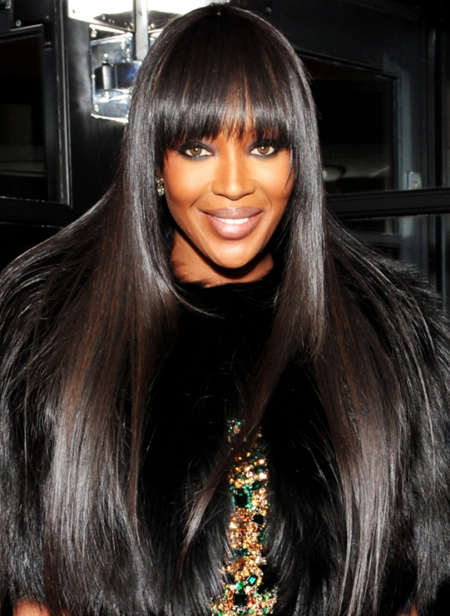 Naomi Campbell Long Hairstyles 2016